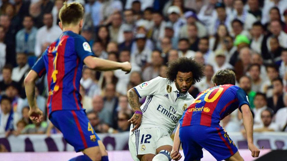Imagen del Clásico del Bernabéu de la pasada temporada