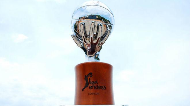 Trofeo de la Liga Endesa.