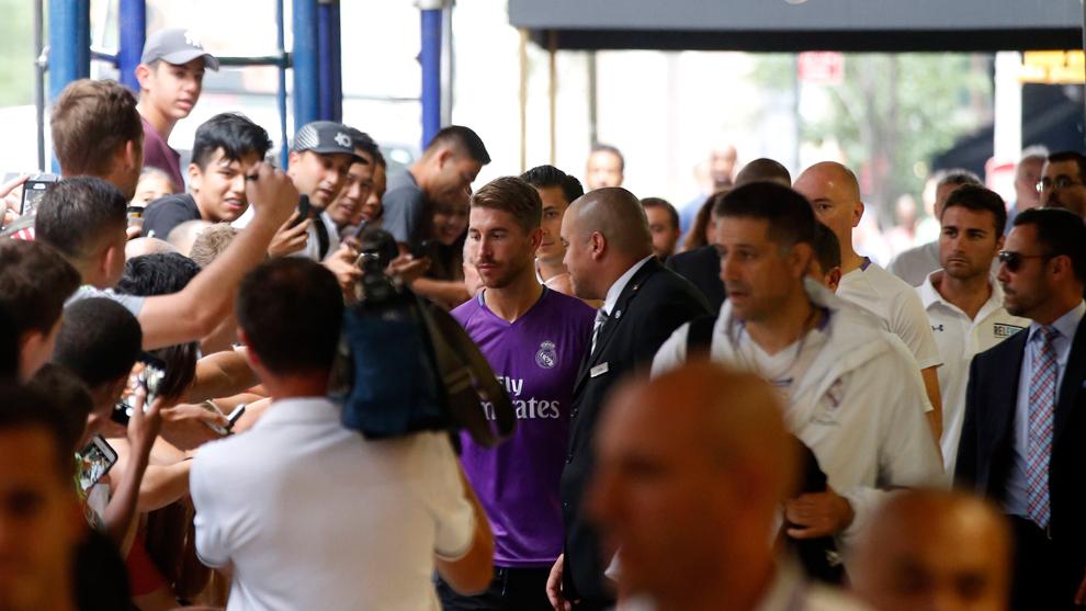 Afición del Real Madrid.