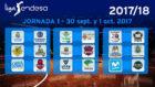 Partidos correspondientes a la primera jornada de la Liga Endesa...