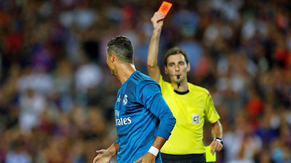 1023ad35d Real Madrid will appeal Cristiano Ronaldo s second yellow card ...