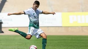 Ronaldo Cisneros, en el último partido ante Veracruz en el que marcó...