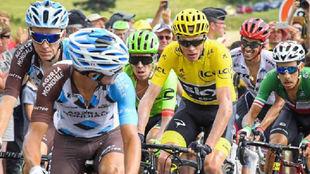 Chris Froome, Alberto Contador, Romain Bardet...en la pasada edición...