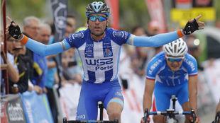 Raúl Alarcón en la Vuelta a Madrid.