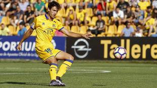 Unai Elgezabal, en su etapa como futbolista del Alcorcón.