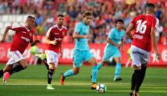 Samper, en el partido de pretemporada contra el N�stic de Tarragona.