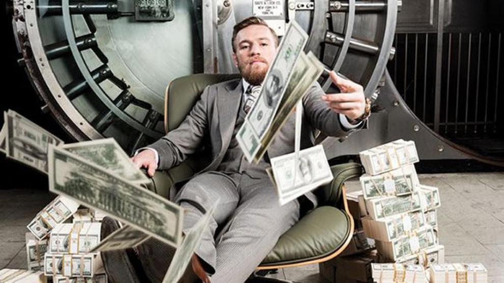 Conor McGregor recibirá 100 millones de dólares por pelear con Mayweather