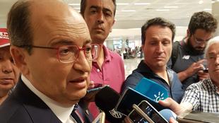 Pepe Castro en el aeropuerto de Estambul