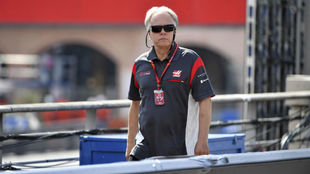 Gehe Haas, en el pasado GP de Mónaco