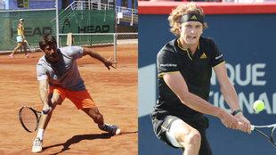 Ferrero y Alexander Zverev