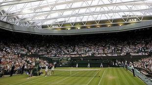 Imagen de la Central de Wimbledon techada