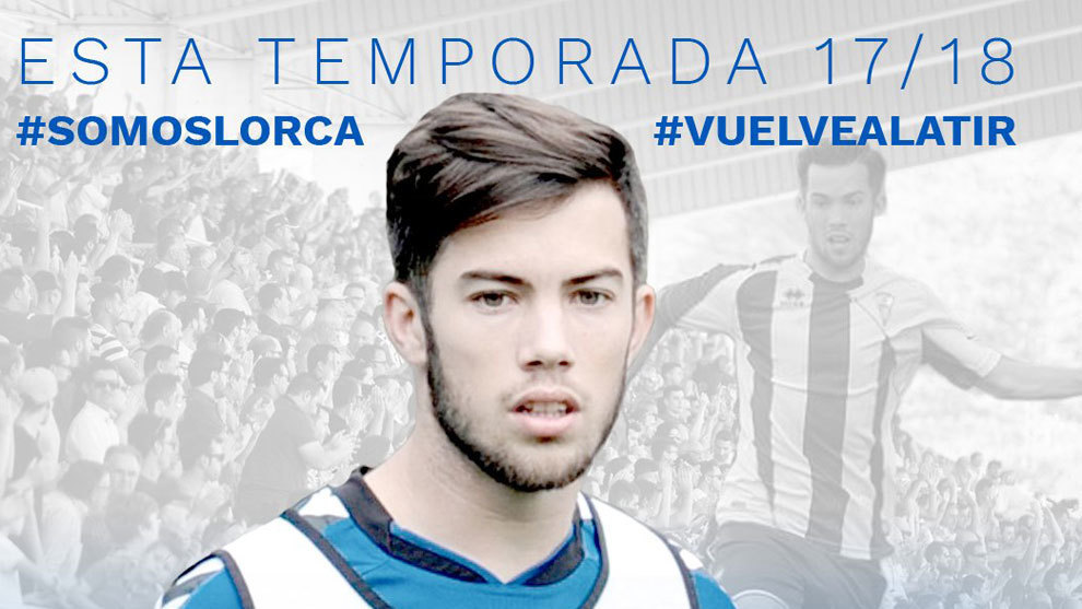 Luque fue anunciado como jugador del Lorca en redes sociales.
