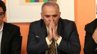 Gari Kasparov en San Luis