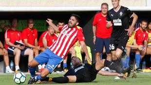 Partido amistoso entre el Sporting y el Eibar