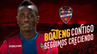Levante anuncia a Boateng como fichaje