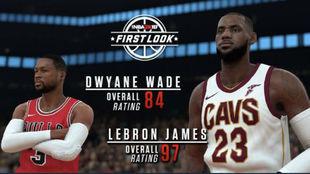 Los jugadores mejor valorados en el NBA 2K18