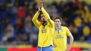 Kevin Prince Boateng (30), en un partido de Las Palmas