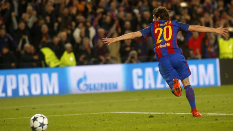 Sergi Roberto jugará en el centro del campo