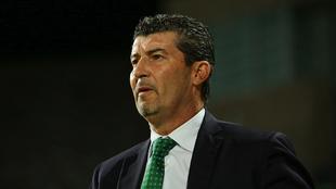 José Manuel de la Torre durante el partido de la Copa MX ante el FC...