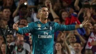 Cristiano lamenta su expulsión el pasado domingo en el Camp Nou