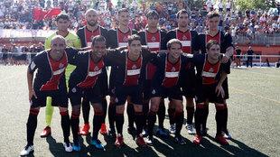 Once del Adarve ante el Atlético Malagueño, su último partido...
