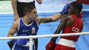 Samuel Carmona durante los Juegos de Río 2016