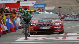 Sergio Pardilla, durante la pasada edición de la Vuelta.