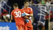 Yañez cambiado por Luca Zidane en la pretemporada del Madrid
