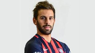 Facundo Quignon, jugador del San Lorenzo de Almagro.
