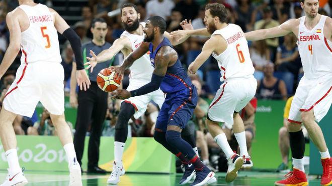 España vs. Estados Unidos en los últimos Juegos Olímpicos