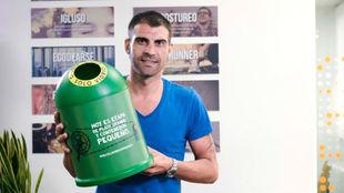 Óscar Pereiro es, por tercera vez, embajador de Ecovidrio en La...