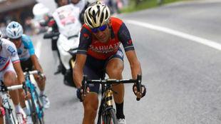 Vincenzo Nibali durante el pasado Giro de Italia.