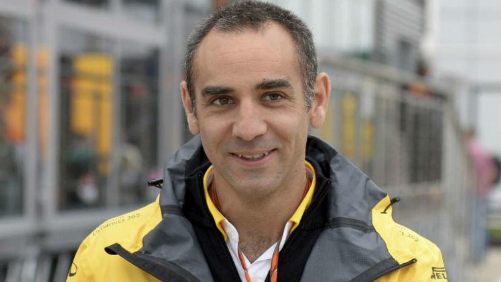 Cyril Abiteboul, director de Renault