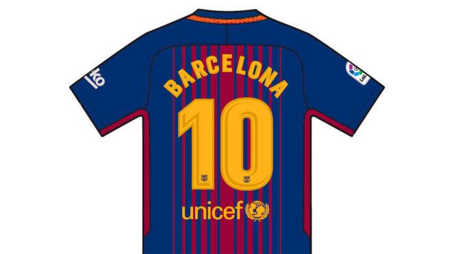 a3c2e91433cad Los jugadores del Barça llevarán el nombre de Barcelona en sus dorsales