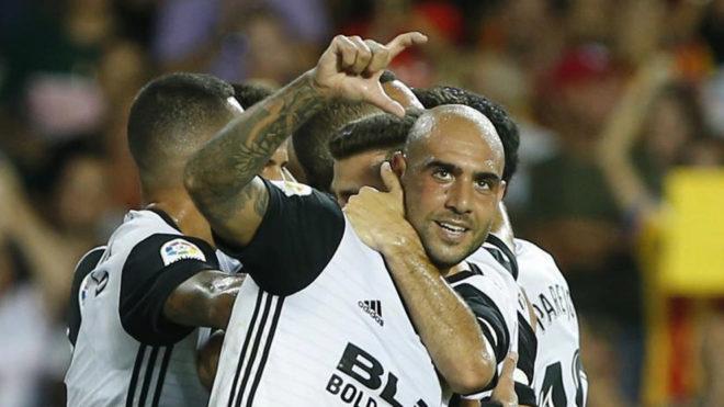 Resultado de imagen de Valencia 1 Las Palmas 0