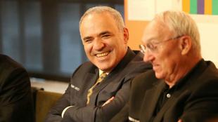 Kasparov, en San Luis