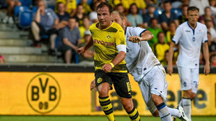Gotze, en un partido con el BVB