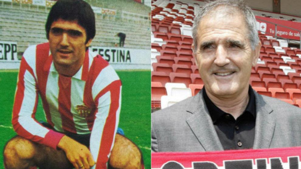 La presentación de Herrera como futbolista y como entrenador del...