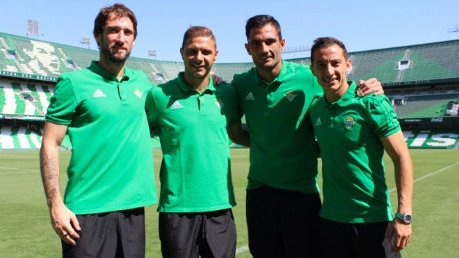 Capitanes del Betis 2017-18
