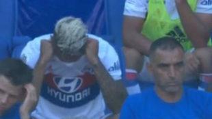 Mariano, en el banquillo.
