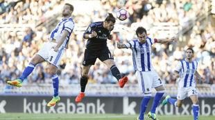 Bale marcó un doblete en la primera jornada de la 16/17 ante la Real...