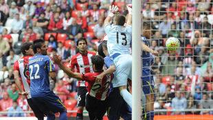 Athletic-Getafe de la temporada 15-16.