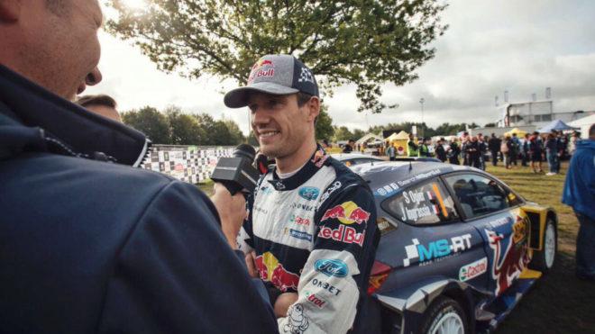 Ogier, en el Rally de Alemania.