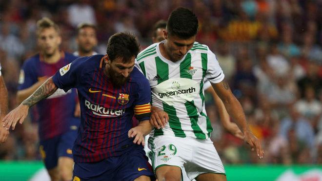 Narváez pugna con Messi