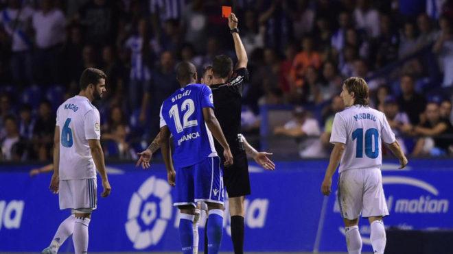 Ramos ve su 18ª roja en Primera este domingo en Riazor