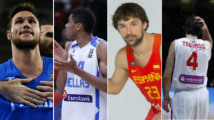 Las ausencias más significativas del Eurobasket 2017