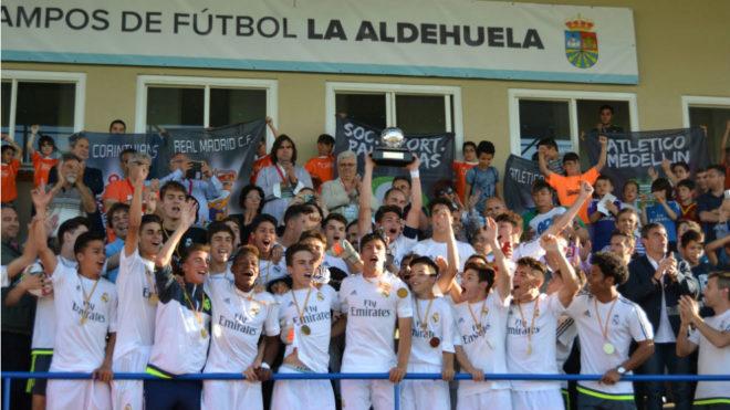 El Real Madrid, vigente campeón.