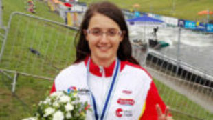Laia Sorribes fue subcampeona del mundo de K1 en 2016.