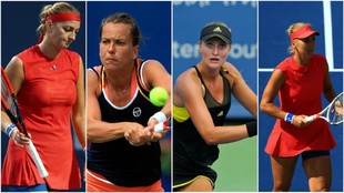Kvitova, Strycova, Mladenovic y Vesnina fueron eliminadas del torneo...
