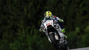 Karel Abraham, en el GP de Austria